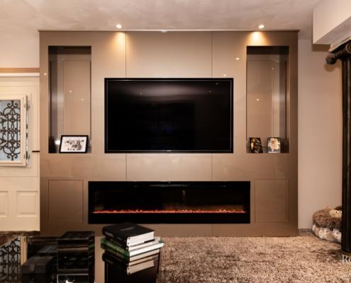 Relaxury tv-wand brons