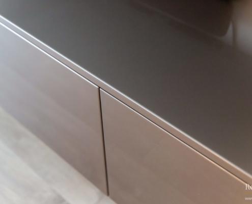 TV wandkast detail